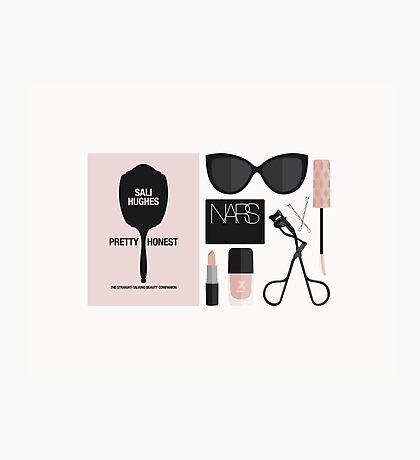Beauty Blogger Flatlay Photographic Print