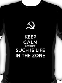 Such is Life in the Zone T-Shirt