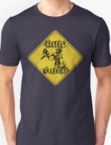 Mordecai Badass Crossing (Worn Sign) T-Shirt