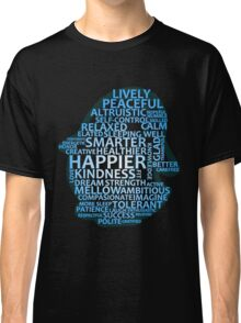 Inspirational Typography Penguin Classic T-Shirt