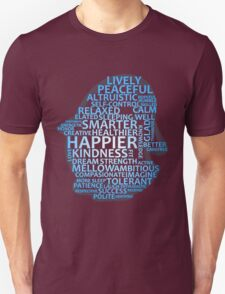 Inspirational Typography Penguin T-Shirt