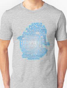 Inspirational Typography Penguin T-Shirt