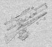 Blueprint Gun by Stuart Stolzenberg