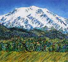 Mount Sopris - Colorado by Kathie Nichols