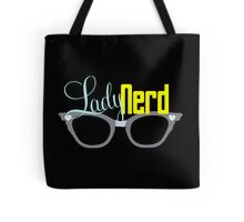 Proud LadyNerd | Grey Glasses Tote Bag