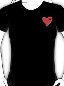 VW Kombi small loveheart/vw logo t-shirt - T-Shirt