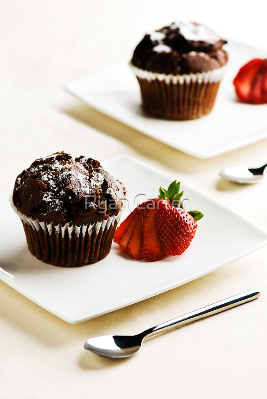 Chocolate Muffins by Ryan Carter