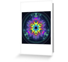 'Lifecircle Bloom' Greeting Card