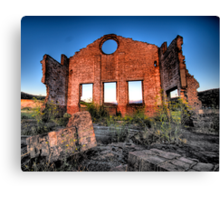 MIne, Mine , Mine - Blast Furnace Park , Lithgow NSW 0 The HDR Experience Canvas Print