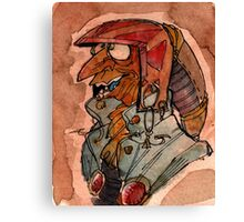 Lizard Goblin Canvas Print