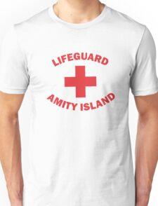 Lifeguard Amity Island Unisex T-Shirt