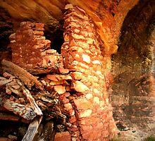 Anasazi Ruin - Utah by Rick Schafer