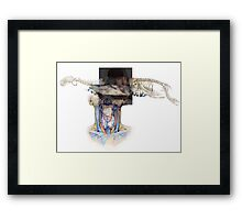 My space. From the series : Inside Laboeatory 101 Framed Print