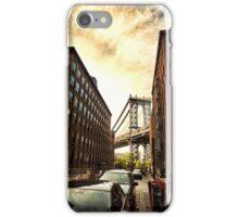 Manhattan Bridge Sunset iPhone Case/Skin