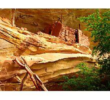 Anasazi Cliff Dwelling - Utah Photographic Print