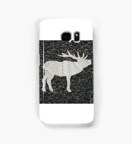 Knitted Elk Design Samsung Galaxy Case/Skin