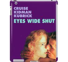 Eyes Wide Shut iPad Case/Skin