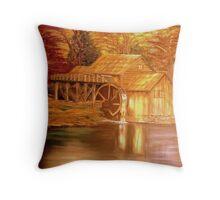 Lake Mill Throw Pillow
