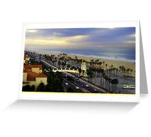 Huntington Beach Model Greeting Card