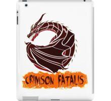The Circular Crimson Disaster iPad Case/Skin