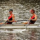 Australian Masters Double Scull by Peter Redmond