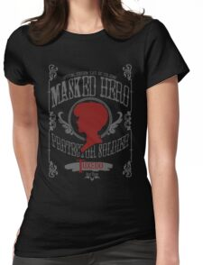 Tuxedo - Rose Throw Womens Fitted T-Shirt