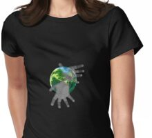 In Our Hands Tee Womens Fitted T-Shirt