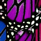 Monarch on Canvas - Full Circle. by Aerhona