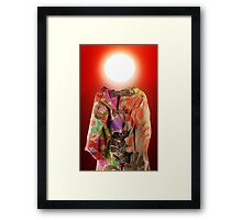 Forecast: it's going to be a crazy summer. Framed Print