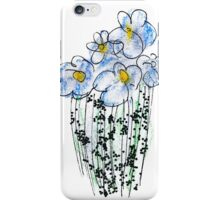 Messy Flowers iPhone Case/Skin