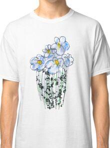 Messy Flowers Classic T-Shirt