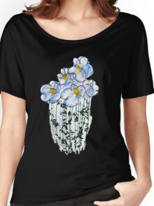 Messy Flowers Women's Relaxed Fit T-Shirt