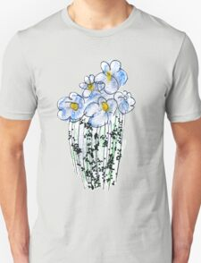 Messy Flowers Unisex T-Shirt