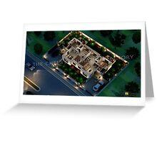3D Floor Plan Rendering Greeting Card