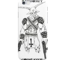 Baphomet Godslayer iPhone Case/Skin