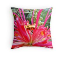 Tasty Grevillea Throw Pillow