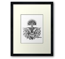 Stars are nature's factories Framed Print