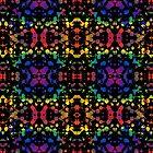 Rainbow Tears, Black by Janet Antepara