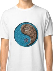 Cancer & Tiger Yang Earth Classic T-Shirt