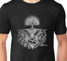 Stars are nature's factories (white design) Unisex T-Shirt