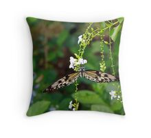 Such a delicate flower Throw Pillow