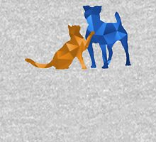 Moggy and Pooch #2. Blue&gold. Take your best friend everywhere. Hoodie