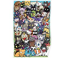 ANIME Cats Poster
