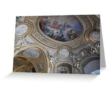 Louvre Ceiling Greeting Card