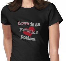 Love Is An Emotion Potion Womens Fitted T-Shirt