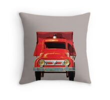 T is for Truck. Throw Pillow