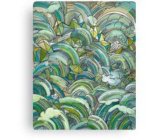 Dragon Roll Canvas Print