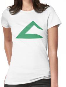 Ash Ketchum Kanto Emblem Womens Fitted T-Shirt