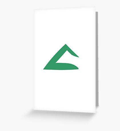 Ash Ketchum Kanto Emblem Greeting Card