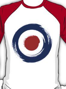Brush stroKe Mod Target T-Shirt
